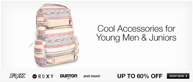 Cool Accessories for Young Men and Juniors