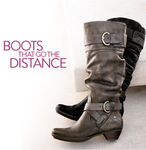 BOOTS THAT GO THE DISTANCE
