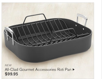 NEW - All-Clad Gourmet Accessories Roti Pan - $99.95