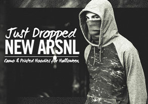 Shop NEW ARSNL ft. Camo & Printed Hoodies