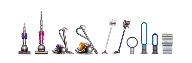 Full Dyson range of technology
