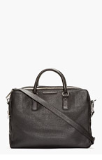 MARC BY MARC JACOBS Black Leather Classic Briefcase for men