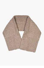 MAISON MARTIN MARGIELA Taupe Melange Cableknit Wool Shawl for men