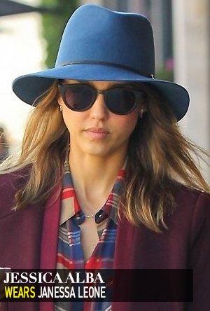 Jessica Alba wears Janessa Leone