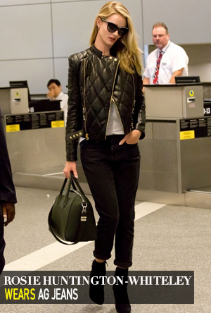 Rosie Huntington-Whiteley in AG Jeans
