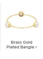 Brass Gold Plated Bangle