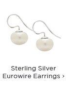 Sterling Silver Eurowire Earrings