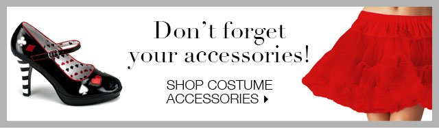 Shop Costume Accessories
