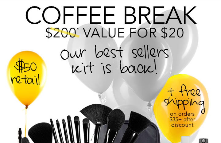 Our Best Sellers Kit is Back! 60% Savings - Coffee Break
