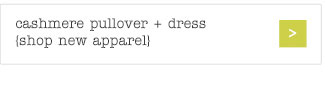 cashmere pullover + dress