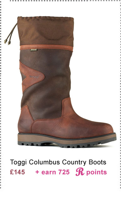 Toggi Columbus Country Boots £145 (Earn 725 Rider Reward points worth £7.25)