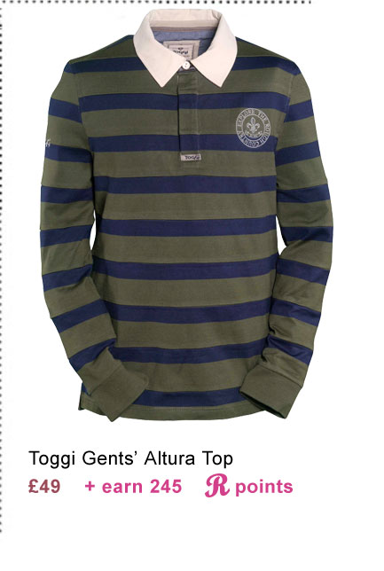 Toggi Altura Gents' Top £49 (Earn 245 Rider Reward points worth £2.45)