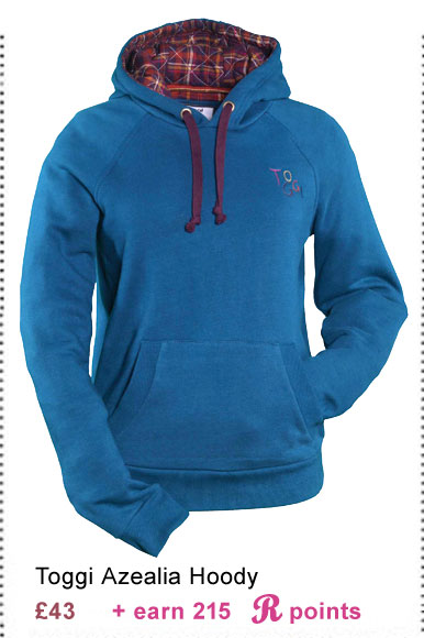 Toggi Azealia Hoody £43 (Earn 215 Rider Reward points woth £2.15)