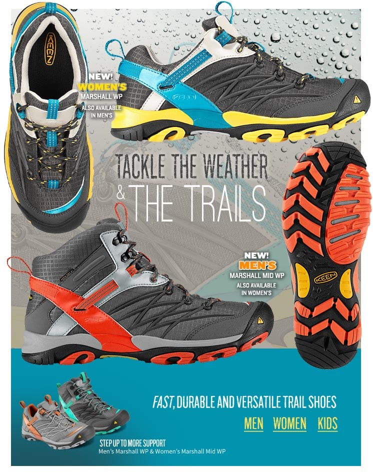 Tackle the Weather & the Trails