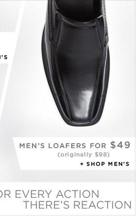 MEN'S LOAFFERS FOR $49 + SHOP MEN'S