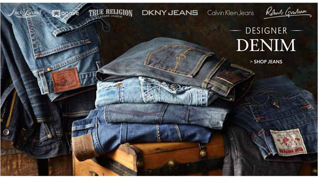 ESIGNER DENIM | SHOP JEANS