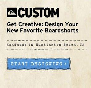 Custom Boardshorts - Get Creative. Start Designing.