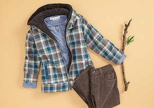Peas & Queues:  Fall Styles for Little Boys