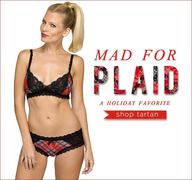 Mad about Plaid. A Holiday Favorite