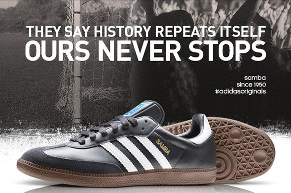 Shop Originals Samba Shoes »