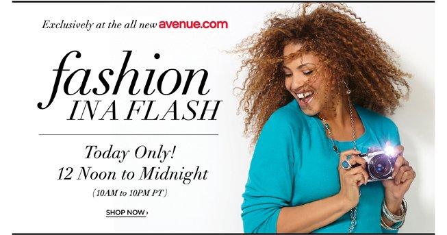 Avenue Fashion in a Flash