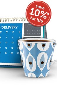 An Order to Last A Lifetime. Sign Up For Auto Delivery & Save 10% On Your Order For Life!