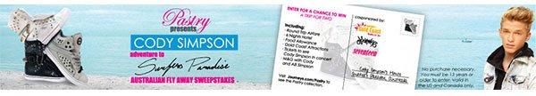 Win a trip to Australia to see Cody Simpson!