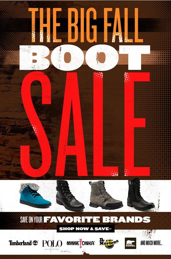 The Big Fall Boot Sale