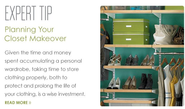 Planning  Your Closet Makeover