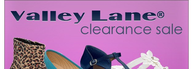 Valley Lane® Clearance Sale - Sale Prices from $4.99 to $24.99