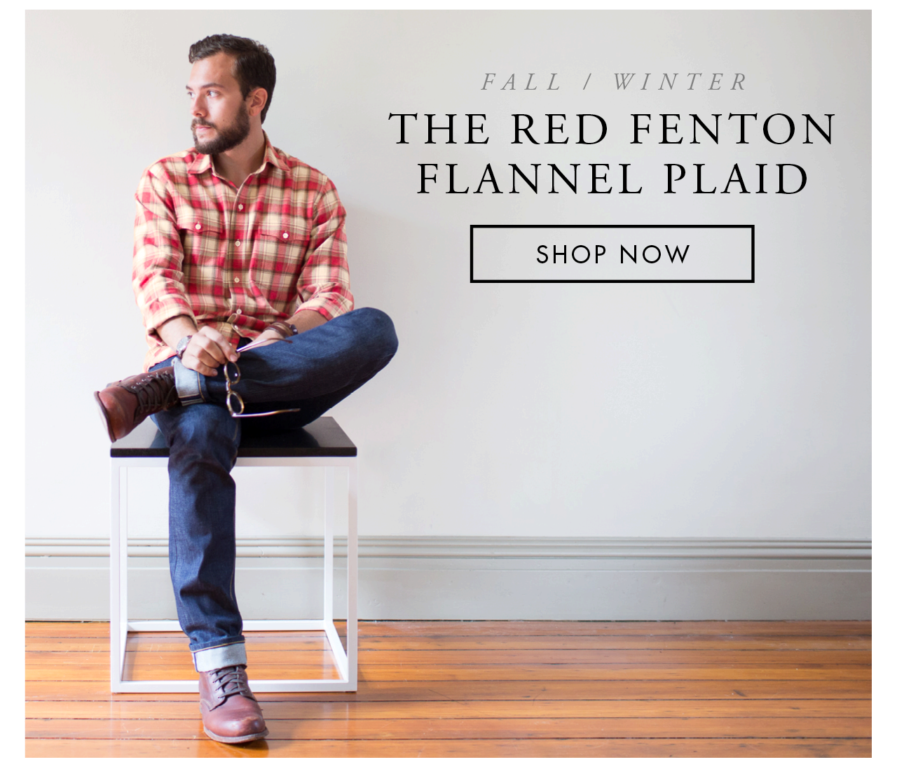 The Red Fenton Flannel Plaid