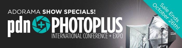 Adorama pdn PhotoPlus Show Specials!