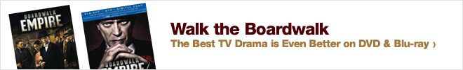 Walk the Boardwalk - The Best TV Drama is Even Better on DVD & Blu-ray