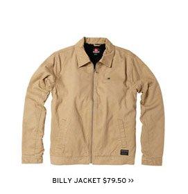 Billy Jacket $79.50