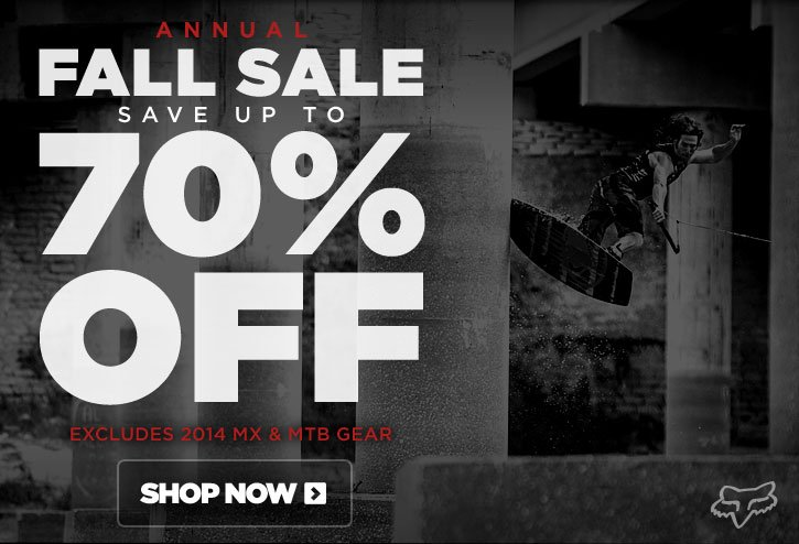 Fall Sale - Save up to 70% Off
