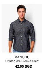 Manchu Printed Shirt