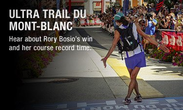 ULTRA TRAIL DU MONT-BLANC - Hear about Rory Bosio's win and her course record time.