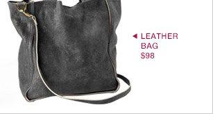 LEATHER BAG $98