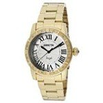 Invicta 14374 Women's Angel Silver Dial Gold Plated Stainless Steel Watch