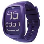 Swatch SURV100 Unisex Touch Purple Digital Dial Rubber Strap Chronograph Alarm Watch
