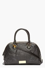 MARC BY MARC JACOBS Black Washed Leather Lauren Bag for women