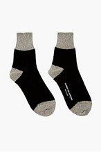 COMME DES GARÇONS Silver Lurex Socks for women