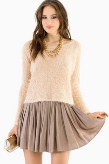 FUZZY PULLOVER SWEATER 28