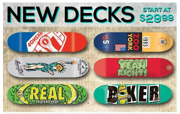 New Decks Starting At $29.99!