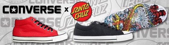 New Collab: Converse x Santa Cruz