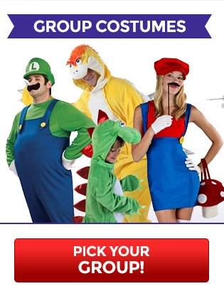 Pick Your Group Costumes