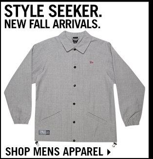 Shop Mens Apparel New Arrivals For Fall