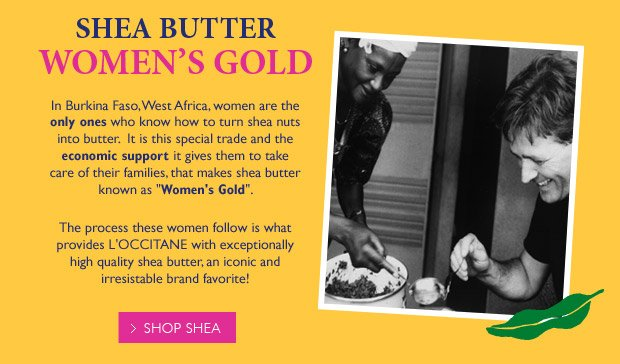 Shea Butter Women's Gold