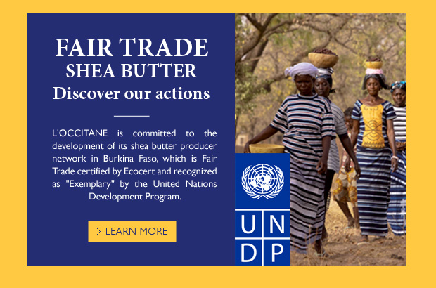 Fair Trade Shea Butter. Discover our actions