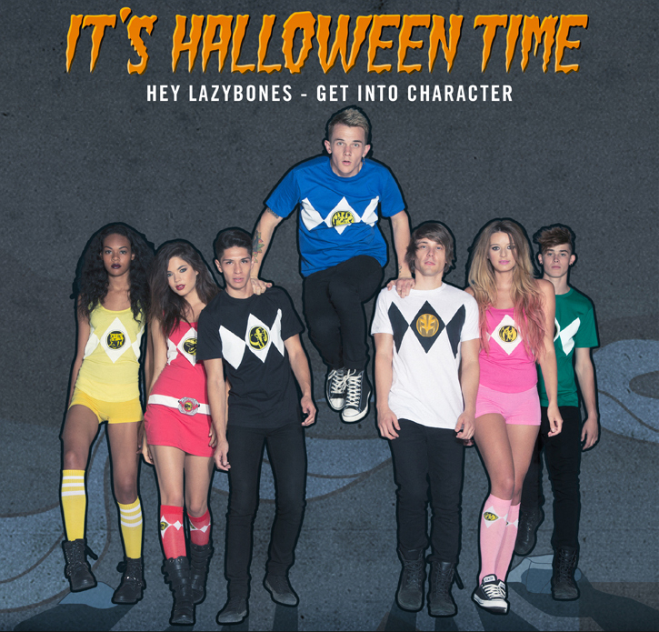 IT'S HALLOWEEN TIME - HEY LAZYBONES - GET INTO CHARACTER